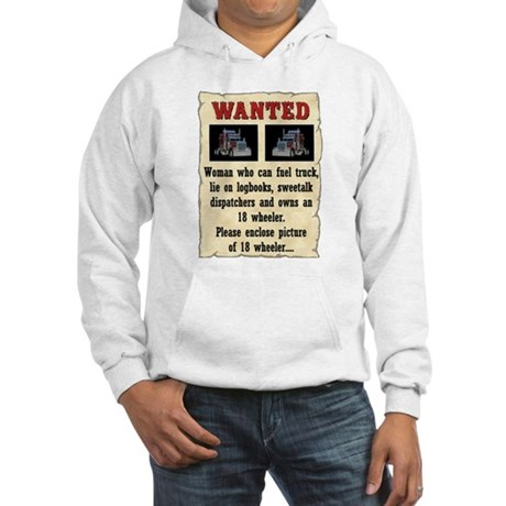 Woman Wanted Hooded Sweatshirt