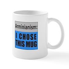 Calvinism (front) Arminianism (back) Mug