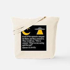 Quran 15:14-15 Tote Bag