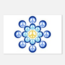 Peace Wheels Postcards (Package of 8)