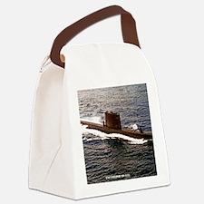 uss sailfish framed panel print Canvas Lunch Bag