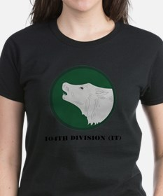 104th Division (IT) with Text Tee