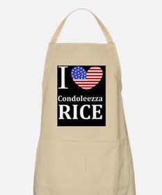 RICE I LOVEDBUTTON Apron