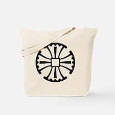 CanterburyCrossBlack Tote Bag