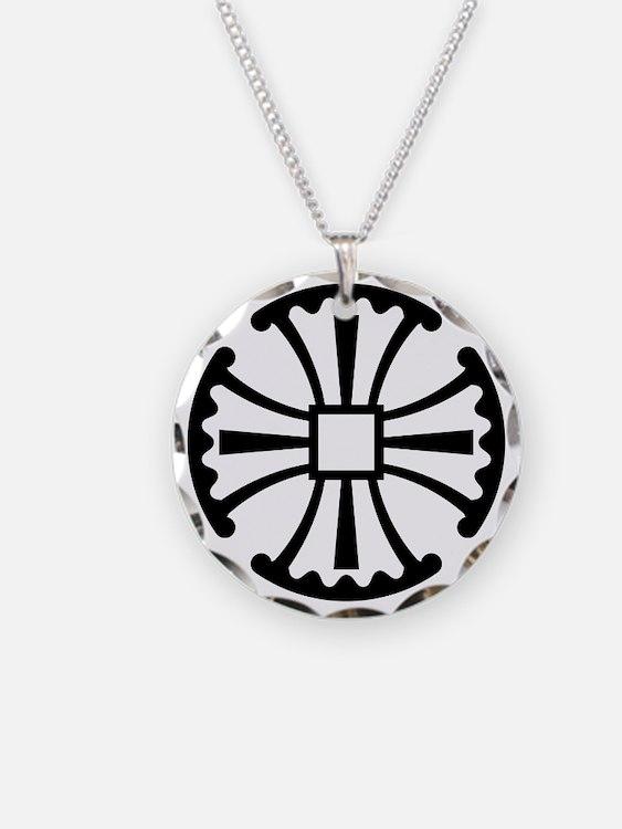 CanterburyCrossBlack Necklace