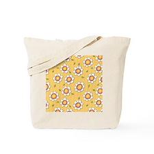 Daisy Joy yellow daisies Shower Curtain Tote Bag