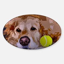 Golden Moment Sticker (Oval)