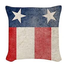 flip_flops3 Woven Throw Pillow