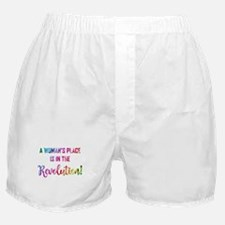 A WOMAN'S PLACE... Boxer Shorts