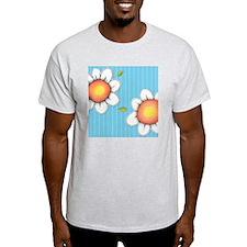Daisy Joy blue Shower Curtain T-Shirt
