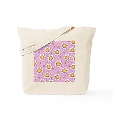 Daisy Joy pink daisies Shower Curtain Tote Bag