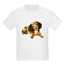 Shy_Low Puppy Kids T-Shirt