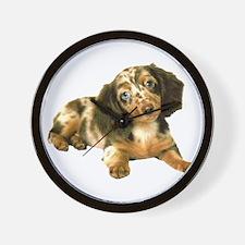 Shy_Low Puppy Wall Clock