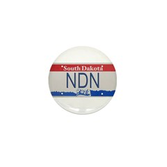South Dakota NDN Pride Mini Button (100 pack)