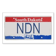 South Dakota NDN Pride Rectangle Decal
