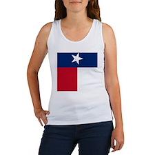 Texas Flag Women's Tank Top