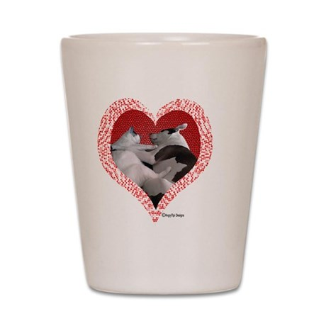 Pet Love Shot Glass