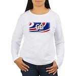 Great Britain Pride Women's Long Sleeve T-Shirt