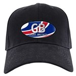 Great Britain Pride Black Cap