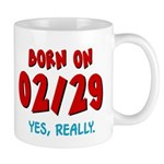 Born On 02/29 Mug