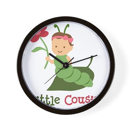 Little Cousin Butterfly Wall Clock