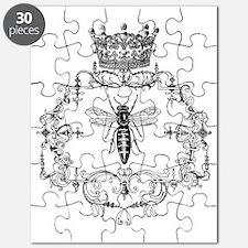 Vintage Queen Bee Puzzle