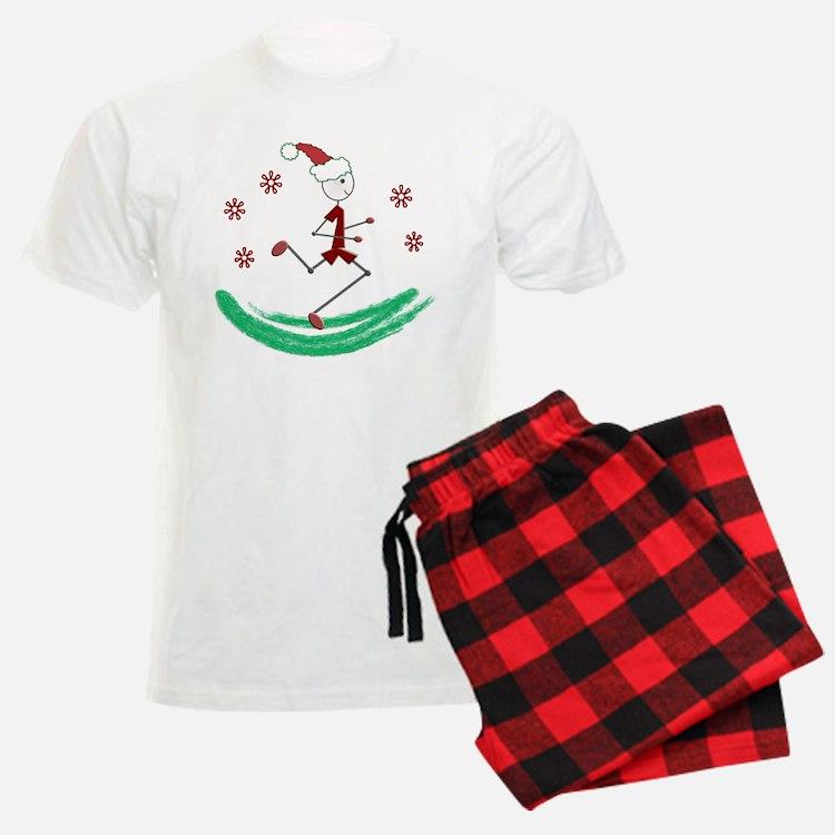 Holiday Runner Guy Pajamas
