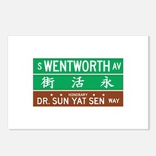 Wentworth Ave., Chicago (US) Postcards (Package o