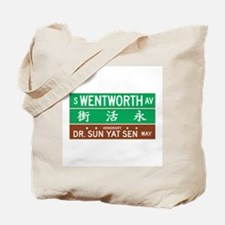Wentworth Ave., Chicago (US) Tote Bag