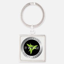 It Works Indepenent Distributor Lo Square Keychain