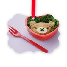 Lunch box with fork Ornament