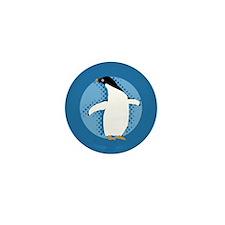 Penguin Posing Mini Button (10 pack)