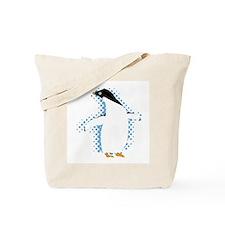 Penguin Posing Tote Bag