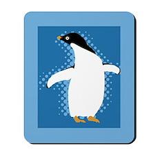 Penguin Posing Mousepad