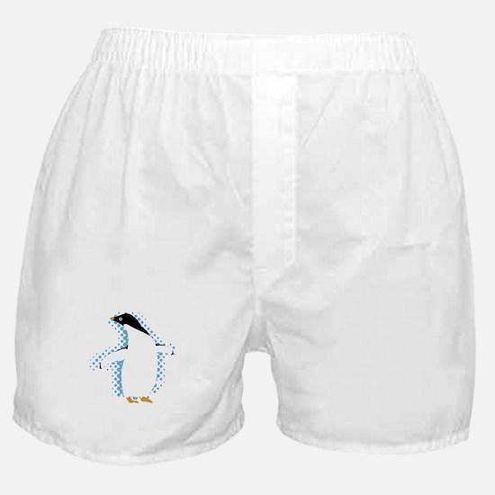 Penguin Posing Boxer Shorts