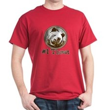 #1 Threat!... T-Shirt