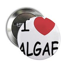 "I heart algae 2.25"" Button"