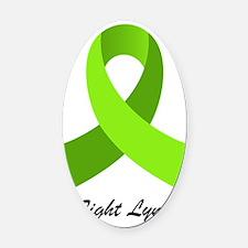 Lyme Disease, Oval Car Magnet