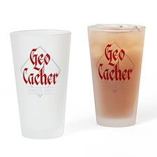 Geocacher - Hardcore Level Drinking Glass