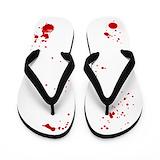Blood splatter Flip Flops