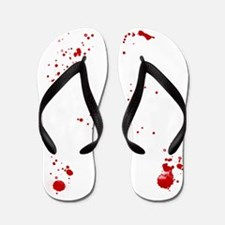Dexter Blood Splatter Flip Flops