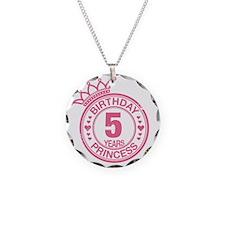 Birthday Princess 5 years Necklace