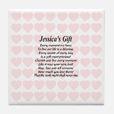 Jessicas Gift Tile Coaster