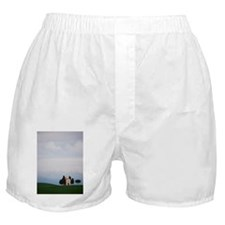 San Quirico dOrcia view Boxer Shorts