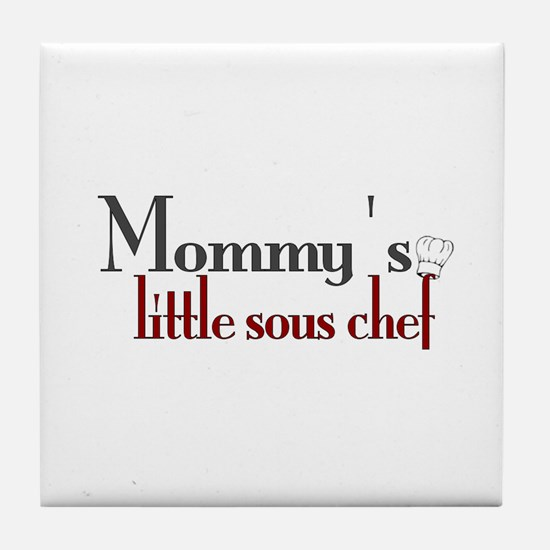 Mommy's Sous Chef Tile Coaster