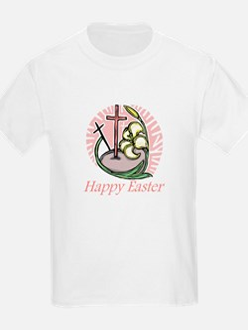 Happy Easter Cross Kids T-Shirt