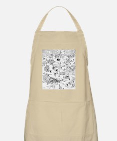 Icons of Horror Apron