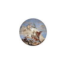 Bellerophon on Pegasus Mini Button