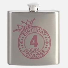 Birthday Princess 4 years Flask