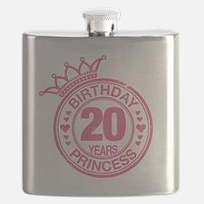 Birthday Princess 20 years Flask